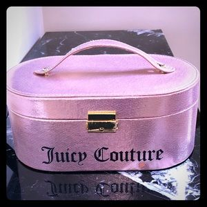 Juicy Couture jewelry box.